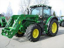 2015 John Deere 6125r Traktori