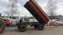 Used Tipper trailers