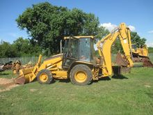 2002 Cat 420D Backhoes