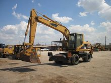 2002 Cat M315 Wheel Excavators