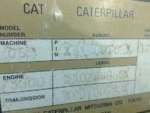 Used CAT crawler tra