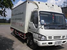 Six 11,083 Isuzu trucks