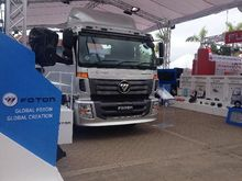 Foton trucks + car semi-7635.