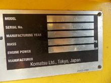 KOMATSU wheel loaders 12985