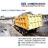 Used XCMG dump truck