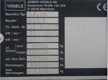 Vogele asphalt 15269