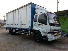 ISUZU deca six-wheel truck 1117