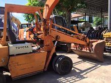 TOYOTA SD15 backhoe loader 1721