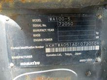 Used KOMATSU WA100-5