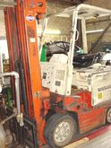 NISSAN 4,400 ELECTRIC FORKLIFT
