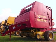 New Holland 664 Baler-Round