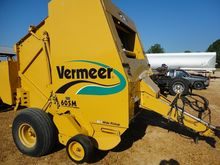 2006 Vermeer 605M Baler-Round
