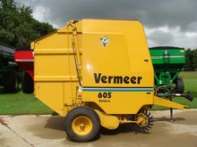 Vermeer 605L Baler-Round