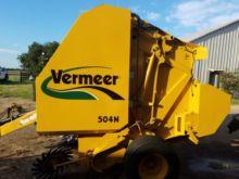2012 Vermeer 504N Baler-Round