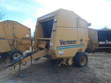 1990 Vermeer 605K Baler-Round