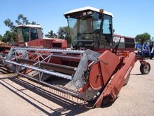 1989 Hesston 8200 Windrower-Sel