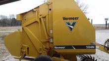 Vermeer 504N Baler-Round