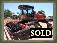 2002 Hesston 8450 Windrower-Sel