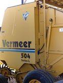 1999 Vermeer 504L Baler-Round
