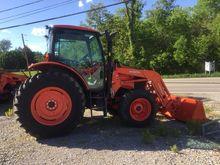 2015 Kubota M110GXDTC Tractor