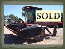 2000 Case IH 8870 Windrower-Sel