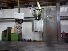 Bed type milling machine Mecof