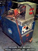 MILLER TIG WELDER, 300 AMP AC/D