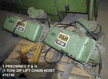 P & H (1 TON) ZIP LIFT CABLE HO
