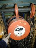 CM 3 TON HOIST, MODEL 622, S/N