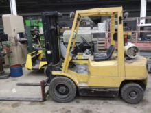 HYSTER H-50XM LP FORK TRUCK WIT
