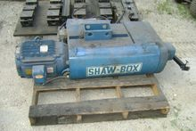 SHAW-BOX OVER HEAD CRANE HOIST