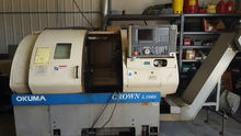 OKUMA CROWN CNC LATHE, MODEL L1