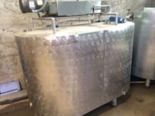 Top Agitated Mixing SS Tank/Ch
