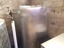 400 Gallon Insulated Storage Ta