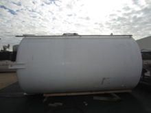 5,000 Gallon Side Agitated SS V