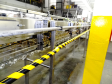 AMT 28/38mm air conveyor system