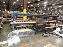 Pallet Conveyor System - 250' T