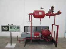 VILTER Base and 75 HP Motor for