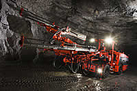 New Sandvik DD321 in