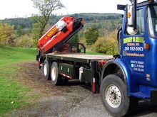 1997 1991 Volvo Boom Truck with