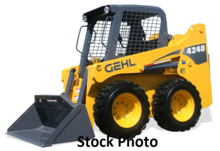 2008 Gehl 4240 Skid Loader with