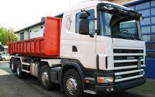 2001 Scania R124 GB 470 8x2 Ket