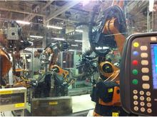 Used Kuka robot arms