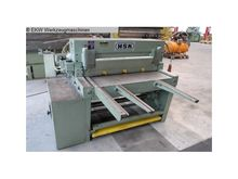 Used Plate shear - m