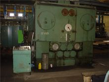 Sheet straightening machine veb