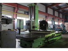 Horizontal boring machine tos w