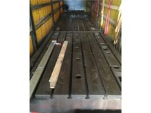 Used T slot floor pl