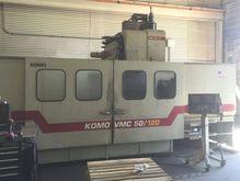 1998 Komo VMC 50/120 Fanuc 18M