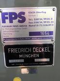 Used DECKEL FP 2 mil