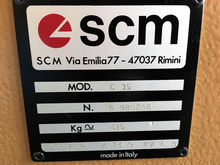 SCM C 35 5 fold comb. Joinery m